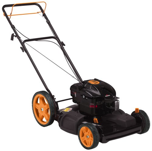 Poulan Pro PR625Y22SHP 22-inch 625 Series Briggs & Stratton Gas-Powered FWD Self-Propelled Lawn Mower with High Rear Wheels