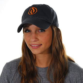 Crowdrise Chazz Reinhold Hat (X-Large, Navy / Orange)