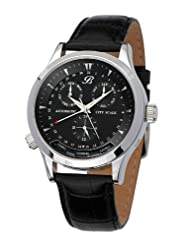 Bossart Watch Co. City Scale BW-0705-SS Automatic Watch for Him Adjustable City Scale