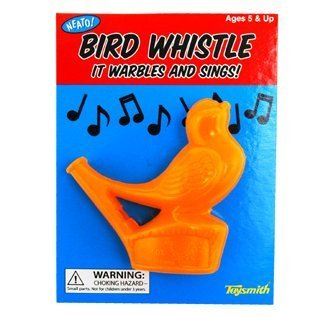 Warbling Bird Whistle (Colors Vary) - 1