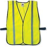 Ergodyne 20040 GloWear 8020HL Non-Certified Standard Vest, One Size, Lime