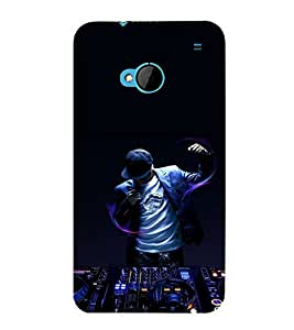 printtech Disco DJ Music Back Case Cover for HTC One M7::HTC M7