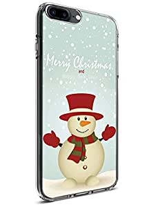 iPhone 7 Plus Case [Drop Protection][Slim Fit] - For Apple iPhone7 Plus 5.5 Inch Happy Snowman