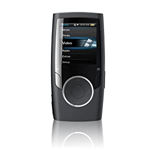 Coby MP601-8GBLK 1.4-Inch 8 GB Video MP3 Player with FM (Black) (Discontinued by Manufacturer)