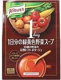 クノール 1日分の緑黄色野菜スープ 10種の野菜の完熟トマトポタージュ 3食