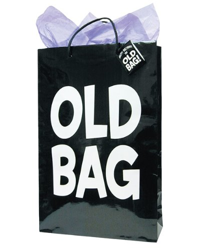 Laid Back C585 Old Bag Gift Bag Party Supplies, 11 by 17-Inch
