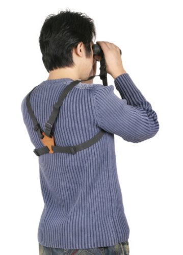 Adjustable Binocular Camera Harness Strap With Quick Release System