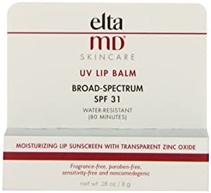 EltaMD SPF 31 UV Broad Spectrum Lip Balm, 0.28 Fluid Ounce