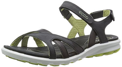 ECCO Cruise Ladies Sandali da Atletica, Donna, Grigio(Dark Shadow/Peppermint 58941), 39