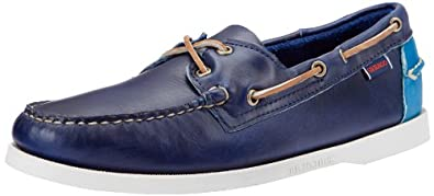 Amazon.com: Sebago Men's Horween Spinnaker Boat Shoe: Shoes