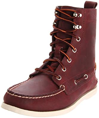 Sperry Top-Sider Men's A/O 7 Eye Boot,Oxblood,7 M US