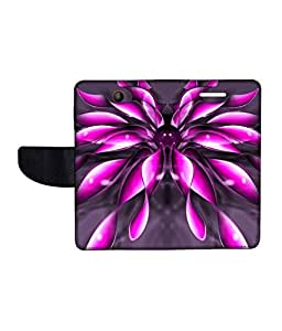 KolorEdge Printed Flip Cover For Microsoft Lumia 430 Multicolor - (43KeMLogo11897Lumia430)