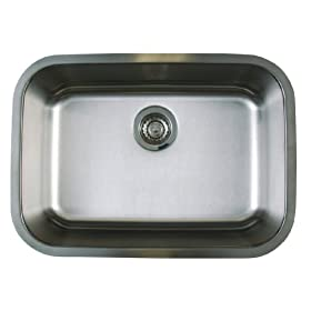 Blanco BL441024 BlancoStellar Super Single Bowl Undermount Sink, Refined Brushed