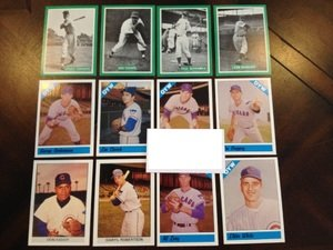 1977 1979 1983 Fritsch One Year Winners Chicago Cubs Team Set 12 Cards MINT by Other