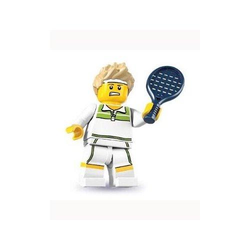 Lego Mini-Figures - Series 7 Tennis Player Figure - 1