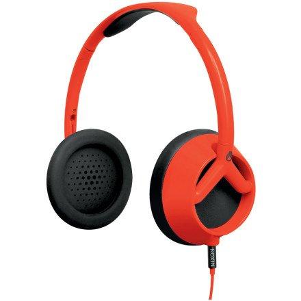 Nixon Trooper Headphones In Red Pepper/Black