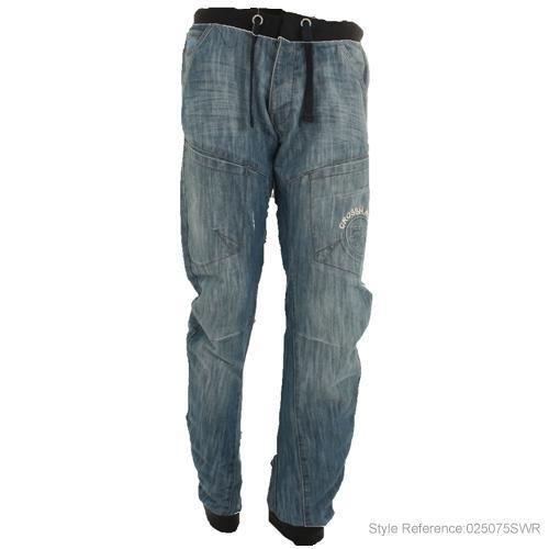 Mens Crosshatch Arc Twist Carrot Fit Jeans M6 Size 28 Regular