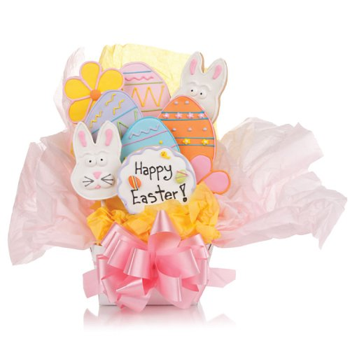 Easter Cookie Bouquet- 9 Pc Bouquet