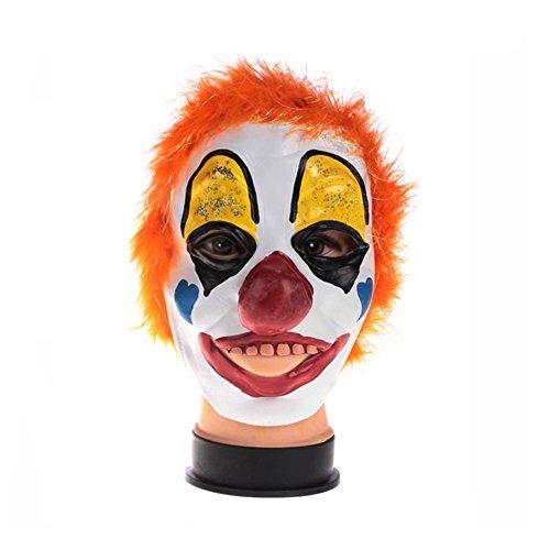 SLG Maschera di Halloween Masquerade/Orrore maschera di teschio faccia/Tutta la persona copricapo orrore in lattice-G