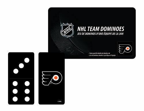 NHL Philadelphia Flyers Domino Set in Metal Gift Tin - 1
