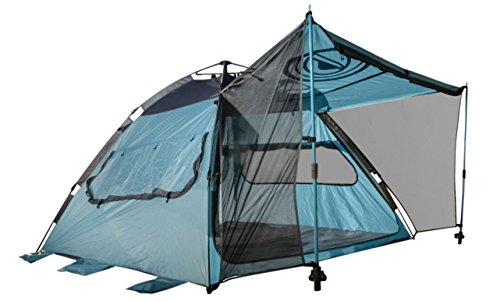 Quick Up Cabana Style Xl Beach Tent 2 In 1 Sun Canopy And