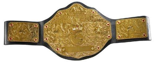 Buy Low Price Mattel WWE World Heavyweight Championship Belt Figure (B0030HPR6W)