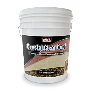 Anvil Crystal Clear Coat Sealer 100 Acrylic Interior Exterior Satin Gloss 5