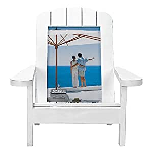Malden Adirondack Chair Picture Frame White