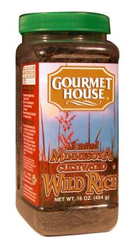 Gourmet House Minnesota Cultivated Wild Rice - 16oz Plastic Jar
