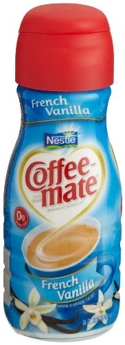 Nestle Coffee-Mate Non-Dairy Creamer, French Vanilla, 16-Ounce Bottles (Pack of 12)