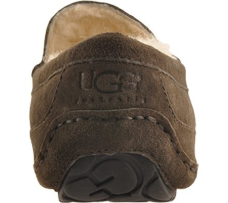 UGG UGG Australia Men's Ascot Suede Slipper in Charcoal 8 M US