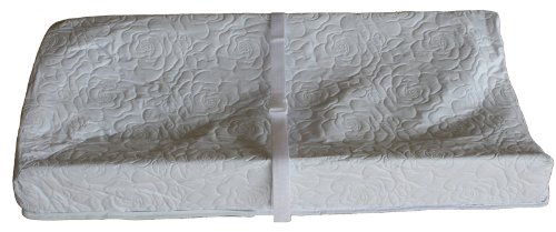 Colgate Mattress 3 Sided Contour Changing Pad, Quilted White front-609056