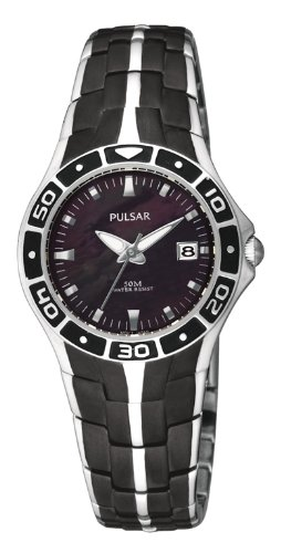 Pulsar PXT683X1 Unisex Watch with Stainless Steel Strap