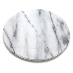 Round White Marble Cheese And Pastry Board 8 Quot Diameter