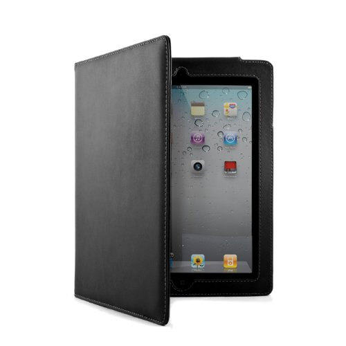 Brunswick England iPad 2 case - Black + Free Engraving - Non-personalised