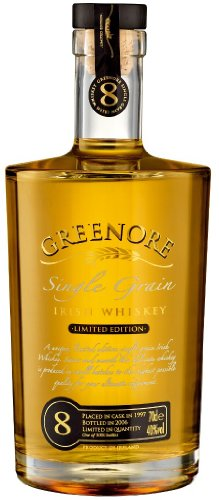 GREENORE 8 Year Old Single Grain Irish Whiskey 70cl Bottle