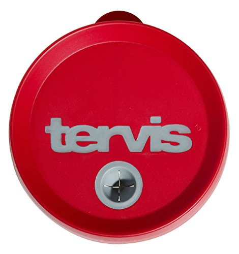 Tervis Tumbler Red/Gray Straw Lid 24oz (Tervis Tumbler 15oz With Lid compare prices)