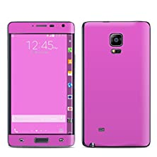 buy Solid State Vibrant Pink Design Decal Sticker For Samsung Galaxy Note Edge (High Gloss)