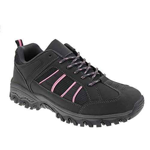 Hawkwell Women's Hiking Shoe,Grey PU,9 M US