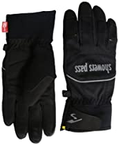 Showers Pass Crosspoint Softshell Gloves, Black, Medium