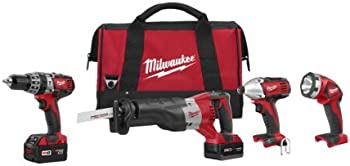 Milwaukee 18-Volt Lithium-Ion Cordless Combo Kit