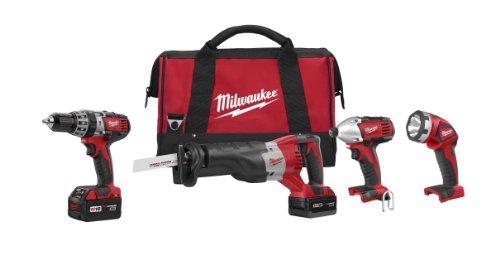 Milwaukee 2696-24 M18 Cordless Compact Combo Tool Kit