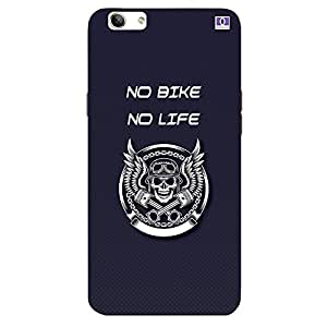 No Bike No Life - Mobile Back Case Cover For Oppo F1 S