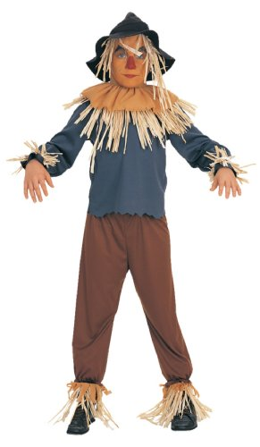Wizard Of Oz Scarecrow Ch Sm Kids Boys Costume