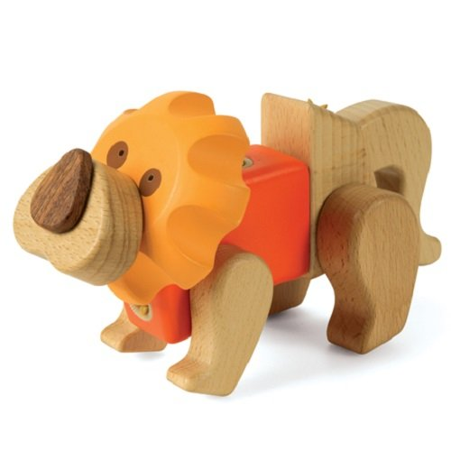 Smart Gear Click 'N Play Lion Building Set - 1