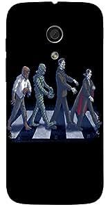 Wonderful 3D multicolor printed protective REBEL mobile back cover for MotoG(1st Gen ) - D.No-DEZ-1783-motog1