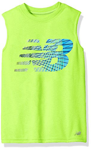 612864977c8e4d New Balance Big Boys  Sleeveless Athletic Graphic T-Shirt