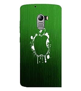 PrintDhaba Apple D-2249 Back Case Cover for LENOVO VIBE X3 LITE (Multi-Coloured)