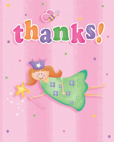 Creative Converting Fun at One Happy First Birthday Girl Thank You Notes, 8 Count
