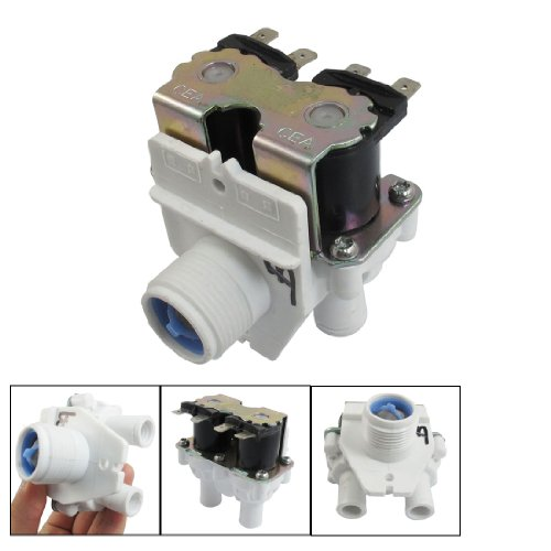 Ac 220-240V 27Mm Thread Diameter Double Tubes Washing Machine Solenoid Valve back-168241